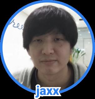 jaxx の顔写真