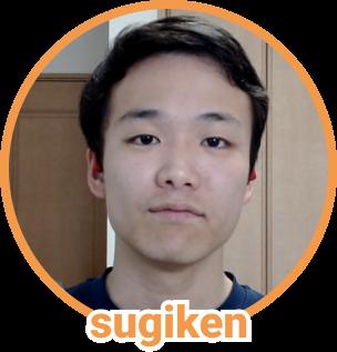 sugiken の顔写真