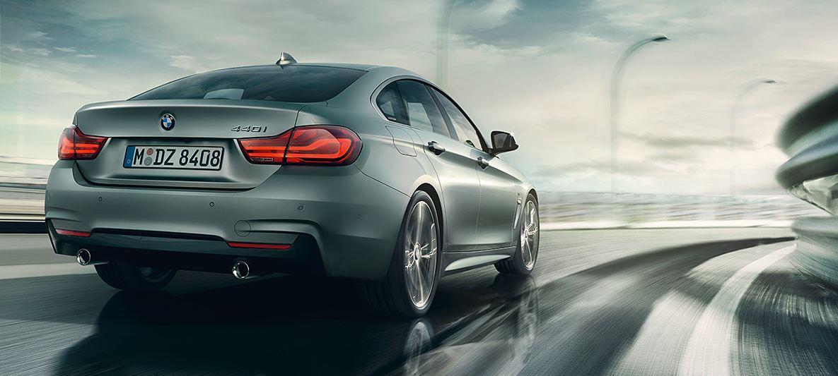 BMWの4シリーズグランクーペ