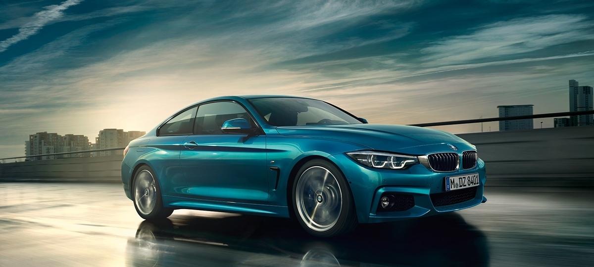 BMWの4シリーズクーペ