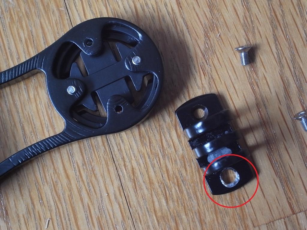 中国製粗悪精度部品を修正