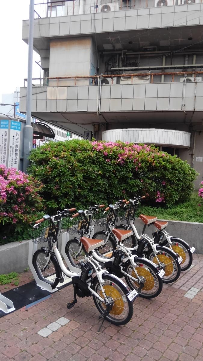 東岡崎駅 レンタサイクル