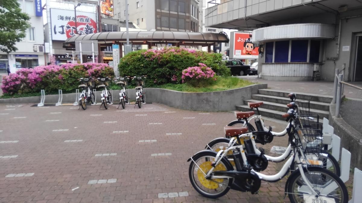 東岡崎駅のレンタサイクル