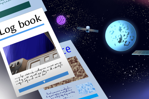 辺境の星と公開日誌