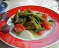 トルコ料理屋さんでサボテンのサラダ!