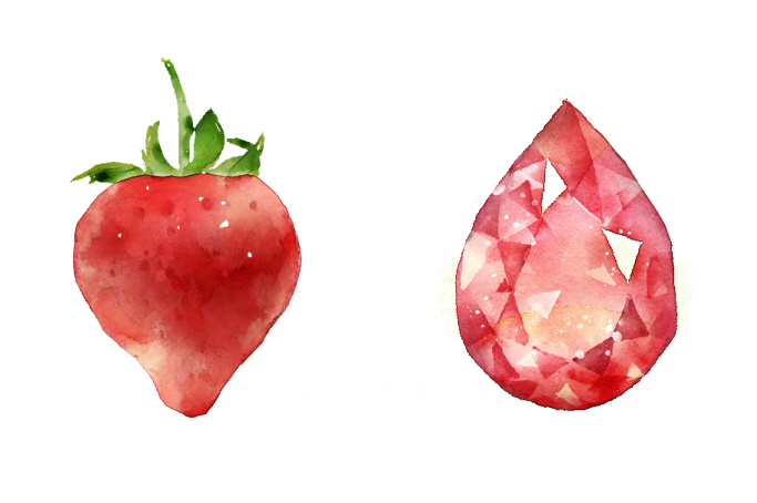 苺とルビー