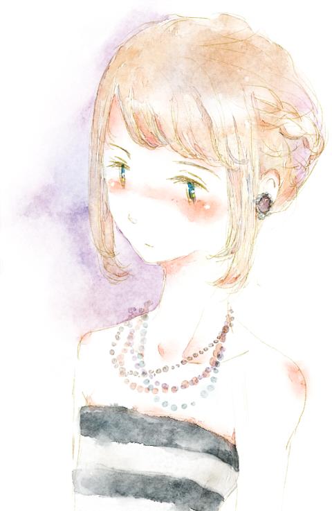 少女漫画の女の子