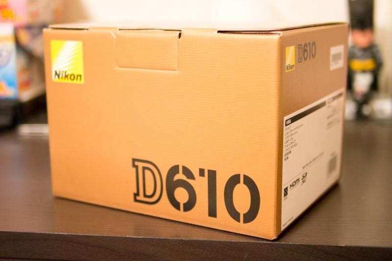 D600が天に召されてD610となって帰ってきた