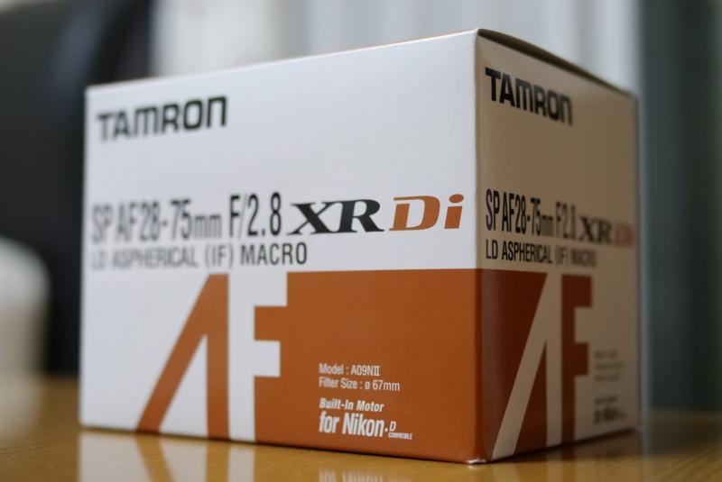 タムロンA09コスパ最強の明るい標準ズームレンズ