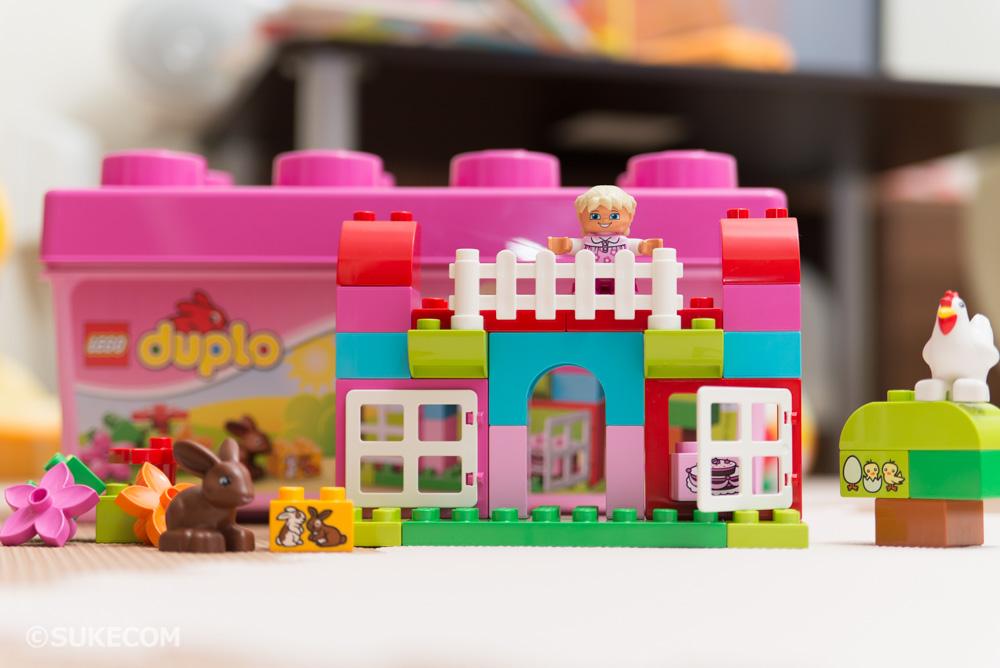 レゴ デュプロ ピンクのコンテナデラックスを購入