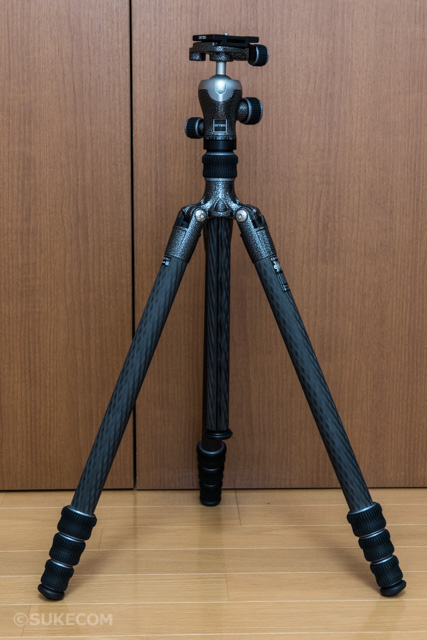 ジッツォのトラベラー三脚1型4段