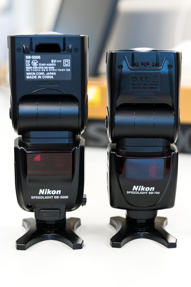 SB-5000とSB-700を比較
