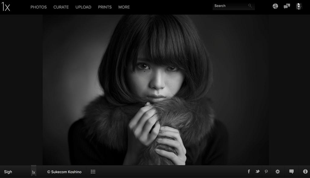 海外の審査制写真投稿サイト1xで3枚の写真がPublished