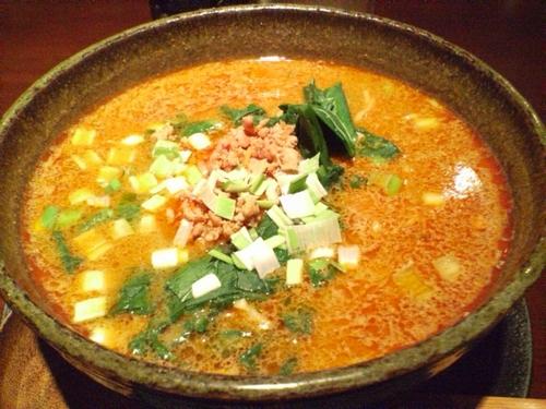 坦々麺@中国名菜「孫」
