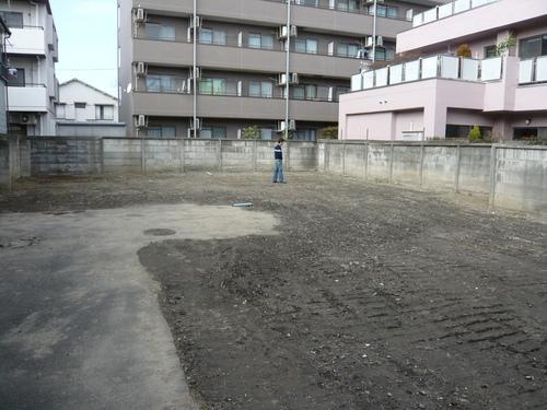 蒲田の家跡地