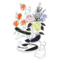 盆の国 仏花