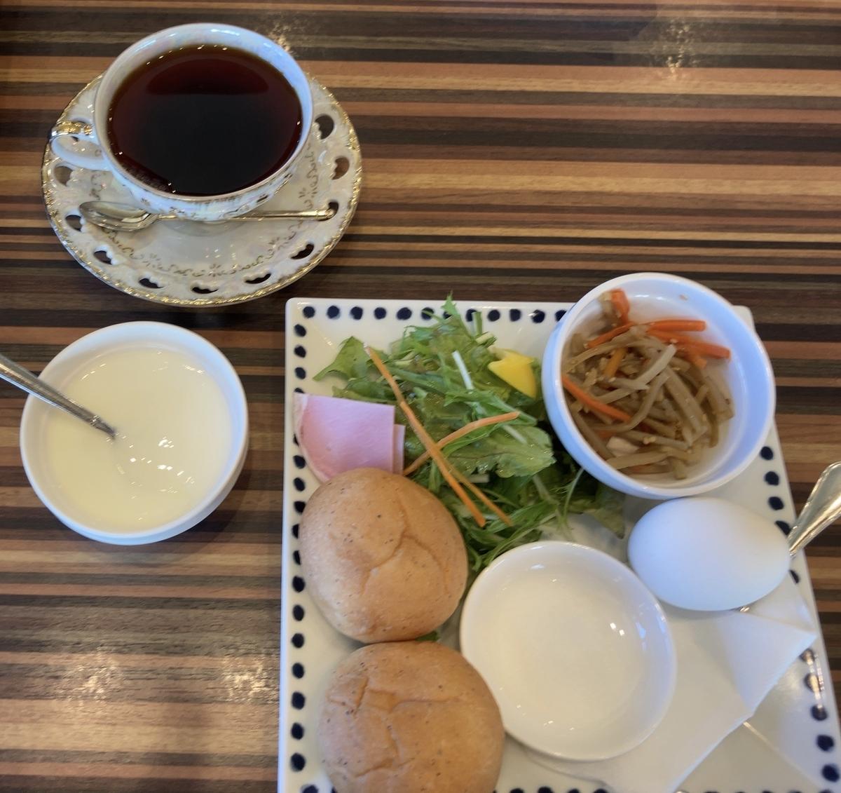 新潟県三条市の「王様の珈琲」でモーニングを食べてきた