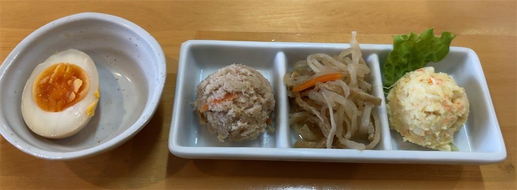おかわり自由のお惣菜4種