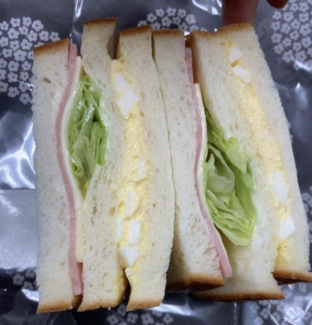 べべのサンドイッチ