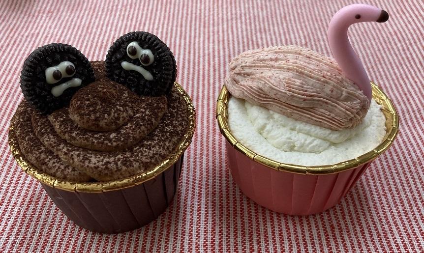 The Ugly Ducklingのカップケーキ