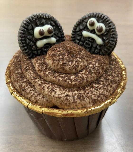 The Ugly Ducklingのカップケーキ ブラックののくん