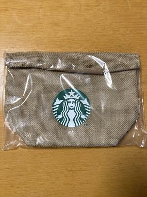 スターバックス福袋2021ジュートランチバッグ