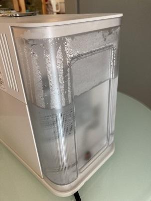 ネスプレッソ ラティシマ・ワンの水タンク