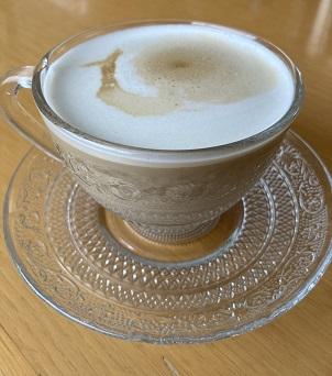 ネスプレッソ ラティシマ・ワンで作ったカフェラテ