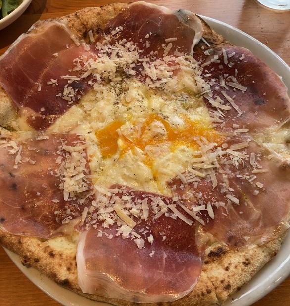 ロルノのビスマルクピザ