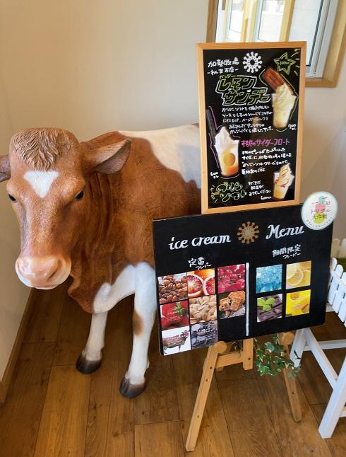 加勢牧場わしま本店の牛