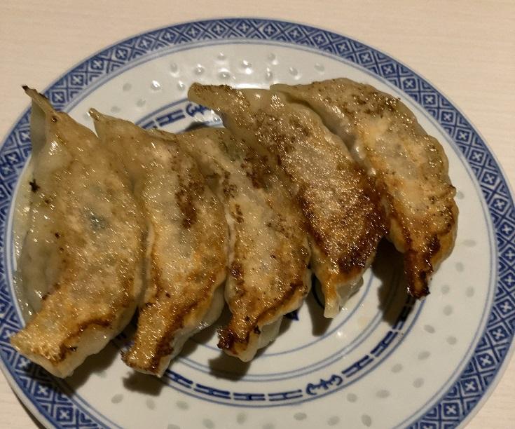 中華料理朱夏のぎょうざ