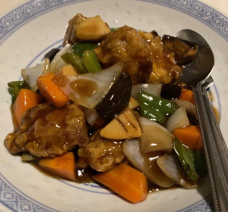 中華料理朱夏のすぶた
