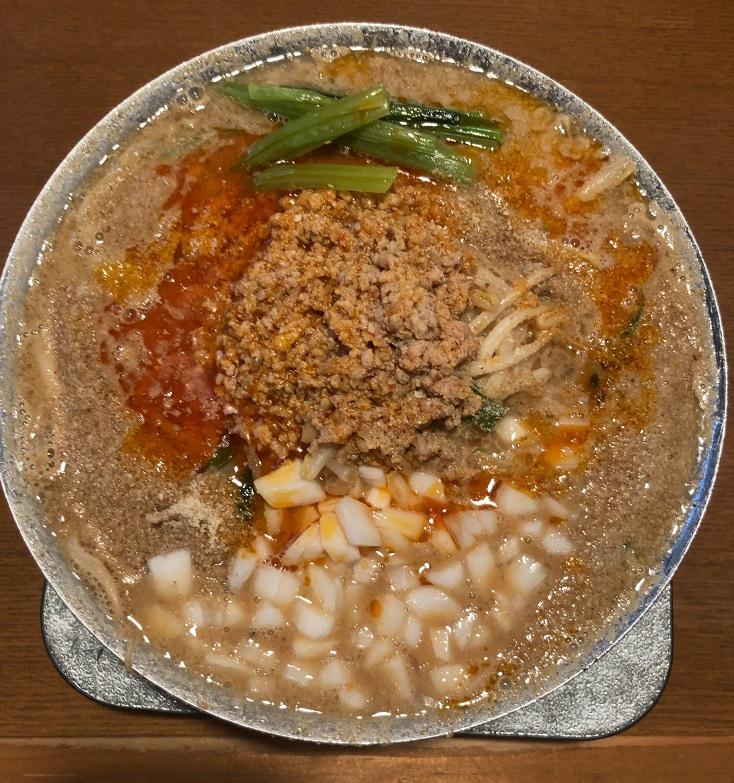 麺's冨志の濃厚味噌タンタン