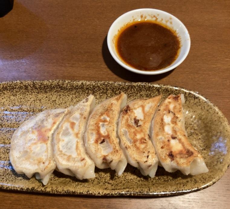 麺's冨志のぎょうざ
