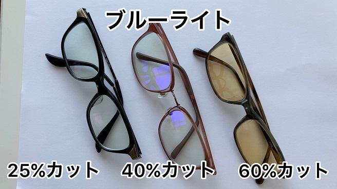 疲れ目対策③ブルーライトカットメガネを使い分ける