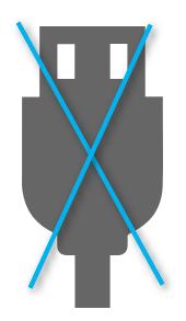 USB互換なし
