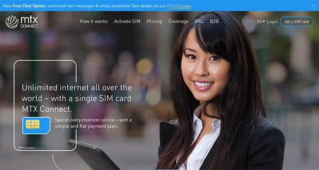 MTX Connect公式サイト