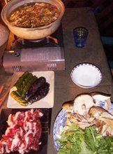 2006.10.8居酒屋アポロで猪鍋