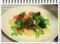 2013.11.10温野菜のアンチョビソースがけ