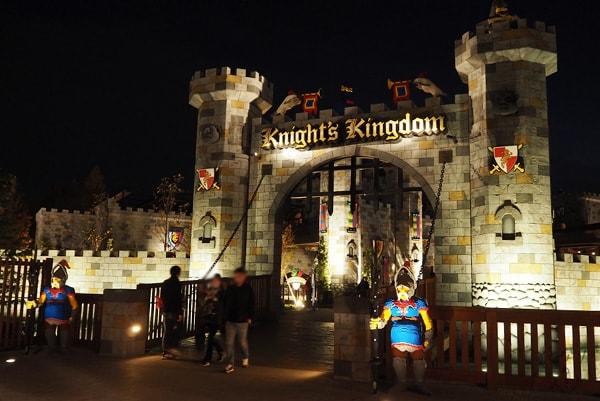 夜のナイトキングダム