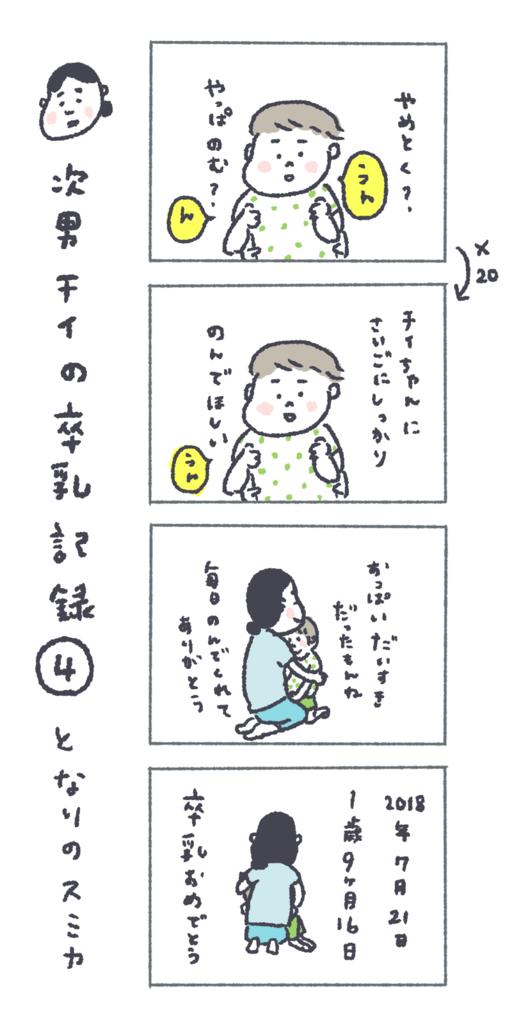 チイの卒乳漫画04