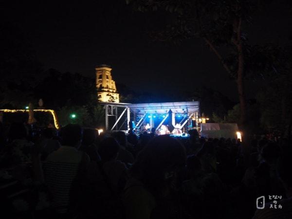 宵の明治村:ジャズライブ