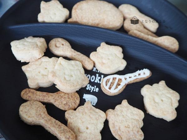 卵不使用の型抜きクッキー
