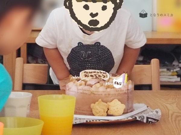 次男チイの誕生日会の様子