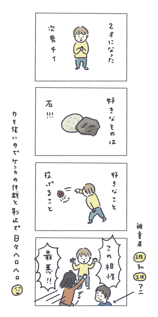 チイの好きな石の話