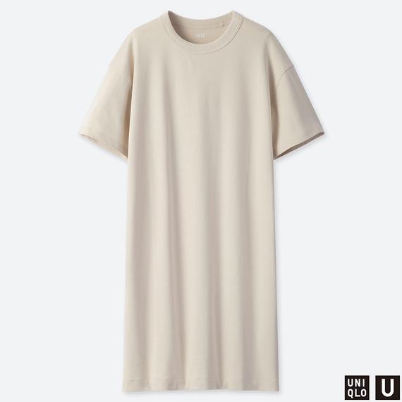 Uniqlo Uの「クルーネックTワンピース(半袖)」
