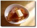 りんごのカラメル煮バターのせ