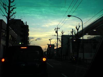 夕焼けドライブ