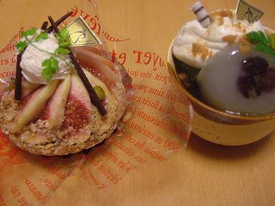 ラ・プリムールのケーキ