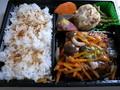 豆腐ハンバーグの野菜あん弁当